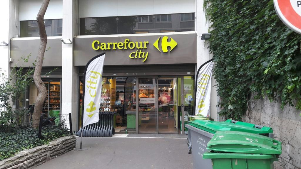 Carrefour city supermarch hypermarch 115 rue de - Carrefour ouvert dimanche paris ...
