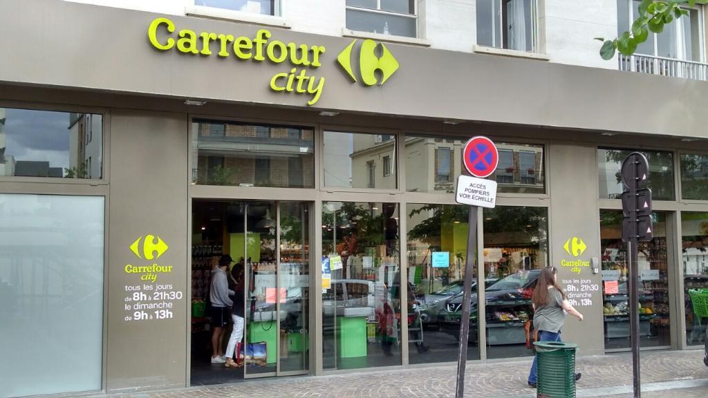 Carrefour city supermarch hypermarch 12 place jean - Leclerc rueil malmaison ...