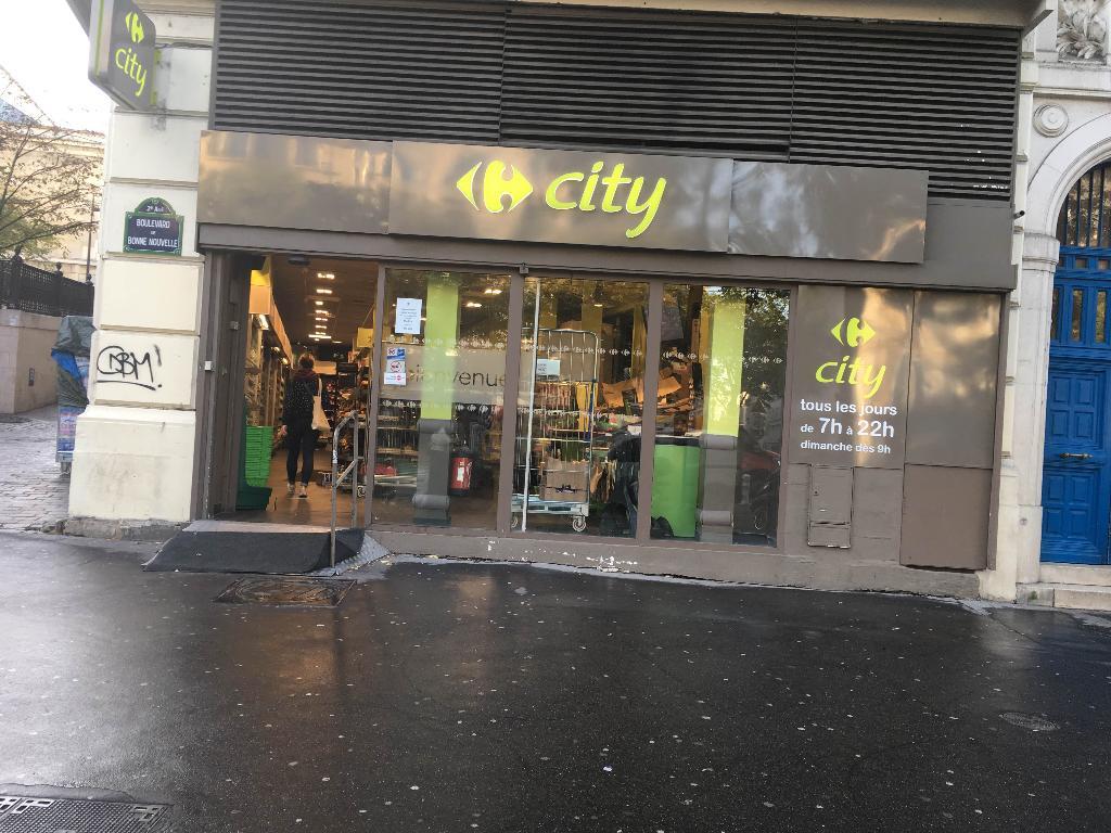 carrefour city paris bonne nouvelle supermarch hypermarch 23 boulevard de bonne nouvelle. Black Bedroom Furniture Sets. Home Design Ideas