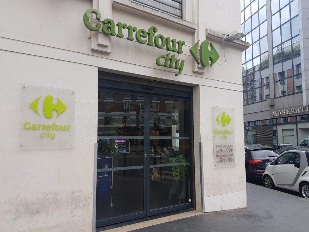 Carrefour city paris laugier supermarch hypermarch - Carrefour ouvert dimanche paris ...