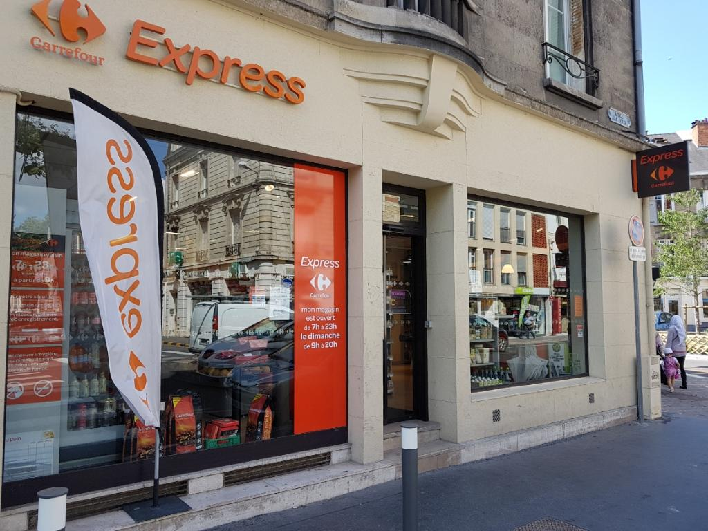 Carrefour express supermarch hypermarch 20 avenue for Cora reims neuvillette