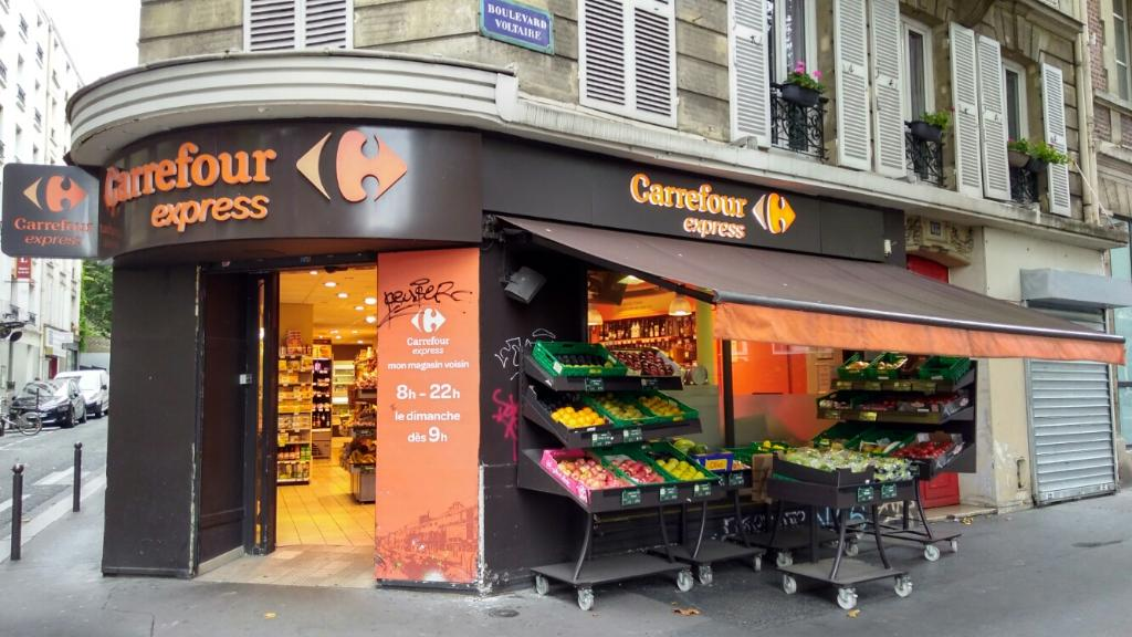 Carrefour express supermarch hypermarch 135 - Carrefour ouvert dimanche paris ...