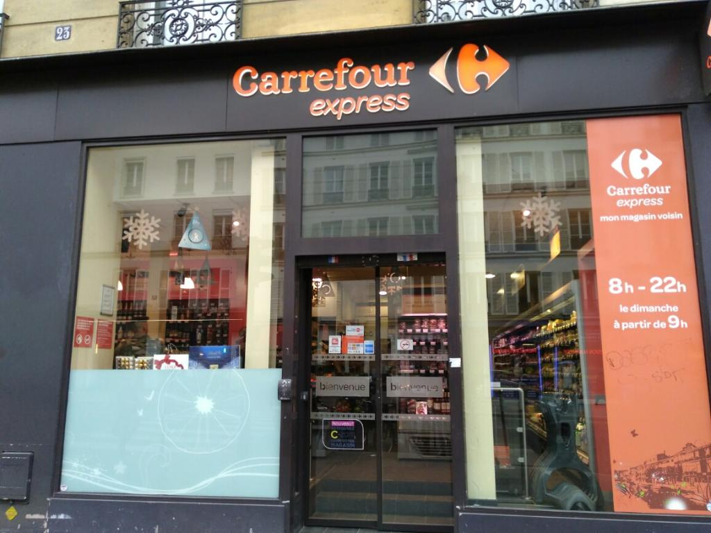 carrefour express supermarch hypermarch 23 rue linn 75005 paris adresse horaire. Black Bedroom Furniture Sets. Home Design Ideas