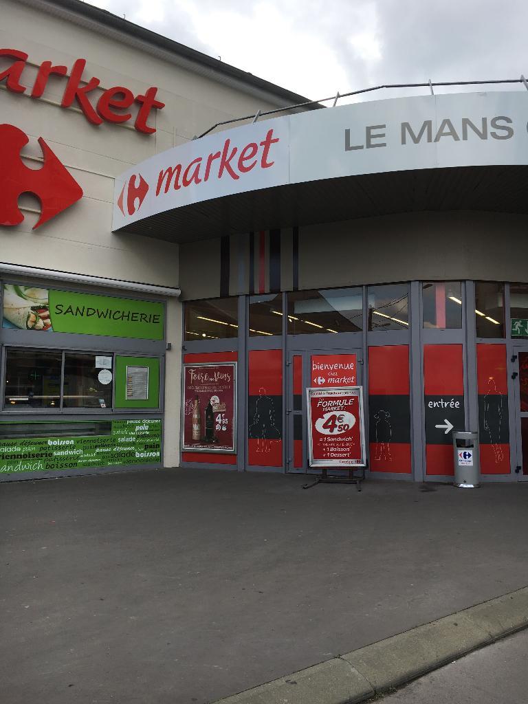 carrefour market supermarch hypermarch 69 avenue louis cordelet 72000 le mans adresse. Black Bedroom Furniture Sets. Home Design Ideas