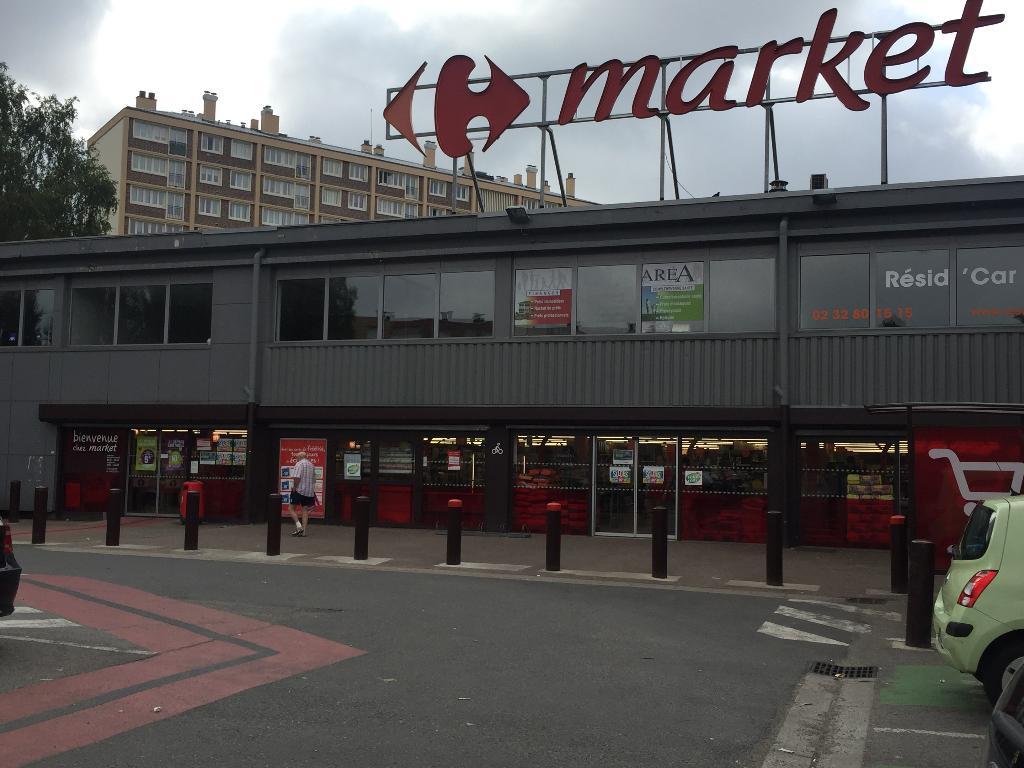 carrefour market supermarch hypermarch rue mar chal de lattre de tassigny 76230 bois. Black Bedroom Furniture Sets. Home Design Ideas