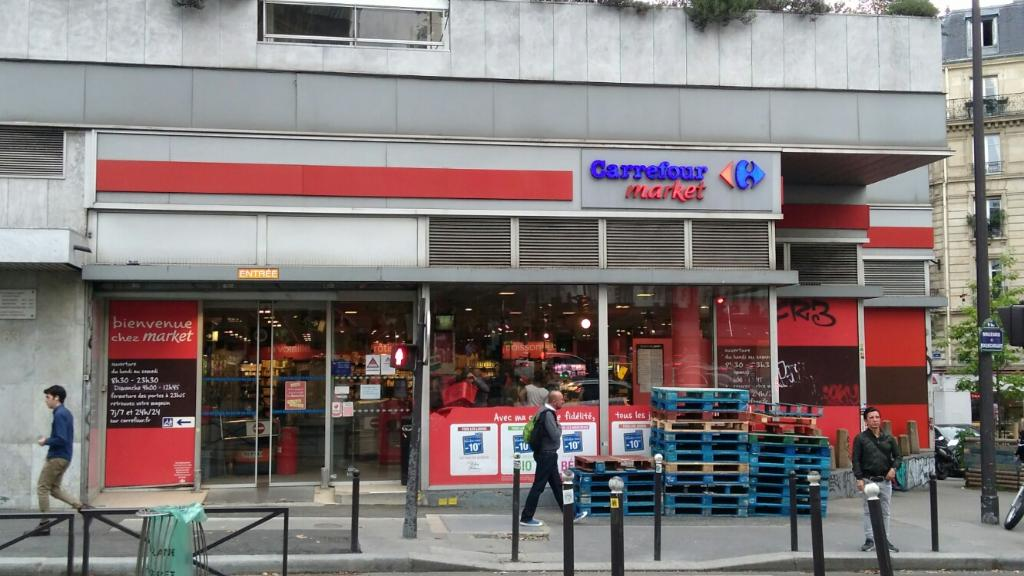 Carrefour market paris rochechouart supermarch - Carrefour ouvert dimanche paris ...