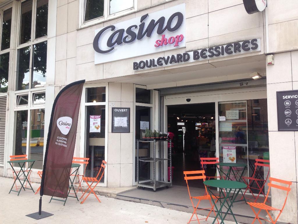 casino shop supermarch hypermarch 57 boulevard bessi res 75017 paris adresse horaire. Black Bedroom Furniture Sets. Home Design Ideas