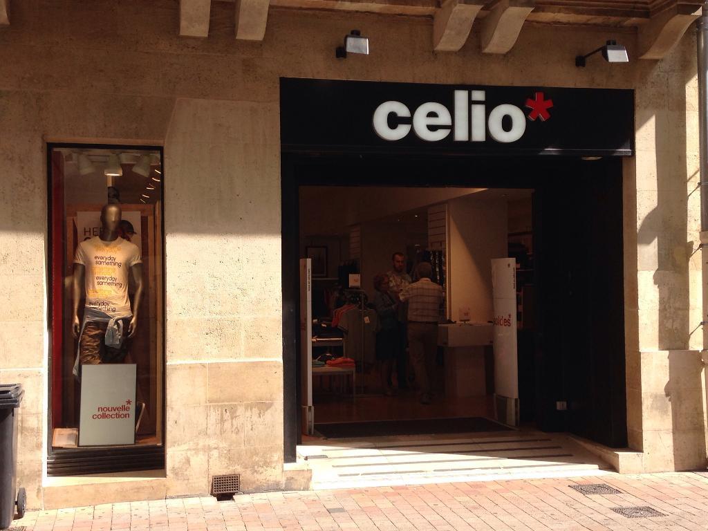 Celio Vetements Homme 57 Rue Porte Dijeaux 33000 Bordeaux