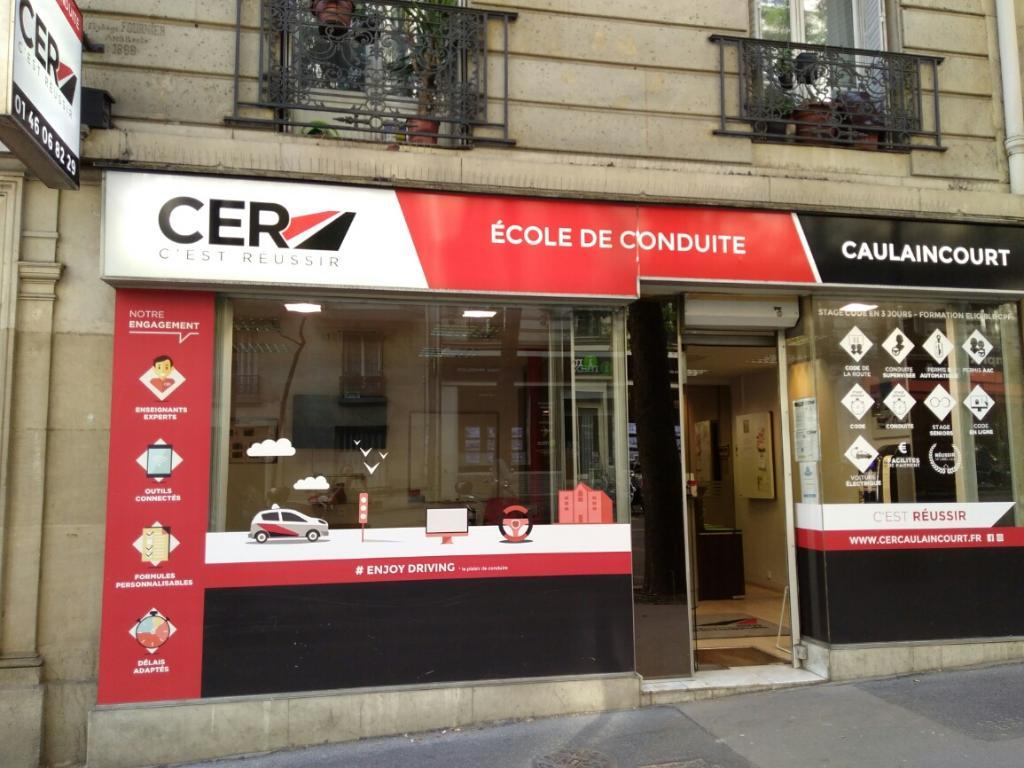 centre education routi re caulaincourt auto cole 13 rue caulaincourt 75018 paris adresse. Black Bedroom Furniture Sets. Home Design Ideas