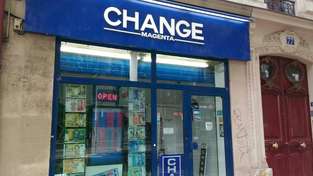 Change Magenta Paris Bureau De Change Adresse Horaires