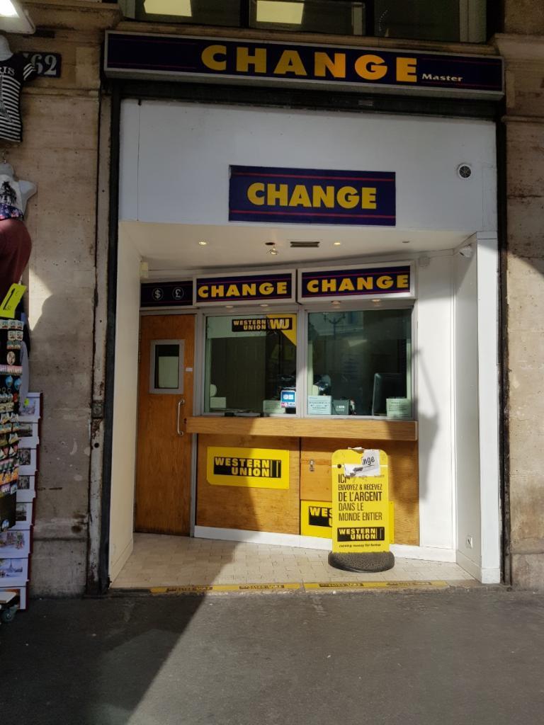 Change master bureau de change 162 rue de rivoli 75001 paris adresse horaire - Bureau de change paris 7 ...