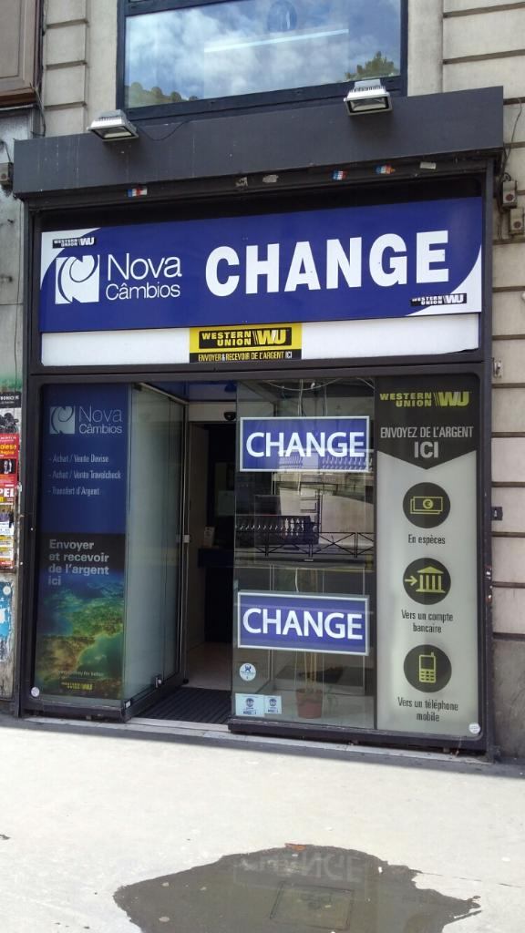 Bureau De Change Auber on