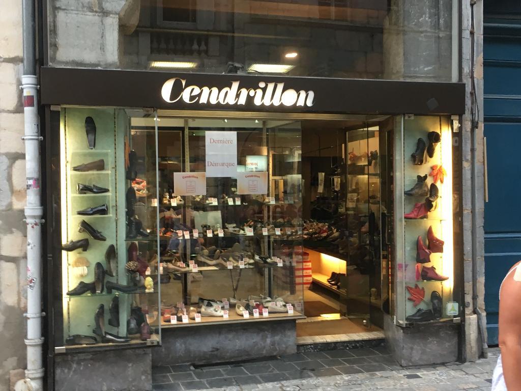CHAUSSURES CENDRILLON - Chaussures, 21 rue des Granges 25000 ... 437e683be670