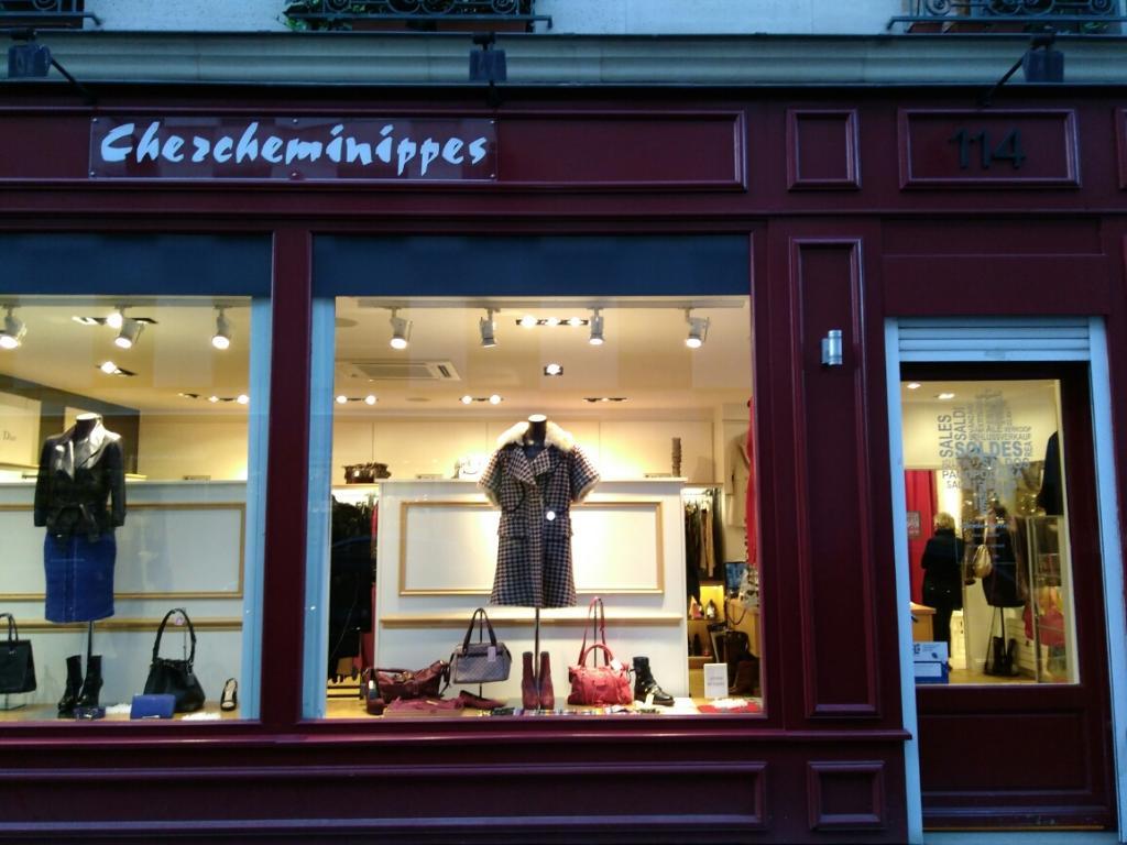 Chercheminippes - Dépôt-vente de vêtements, 114 rue du Cherche Midi ... 08eac32bd86