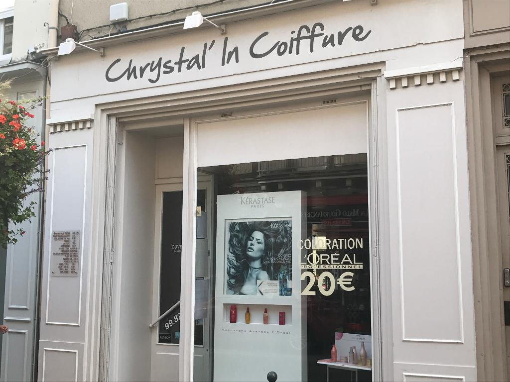 chrystal in coiffure coiffeur 35 rue ville p pin 35400 saint malo adresse horaire. Black Bedroom Furniture Sets. Home Design Ideas