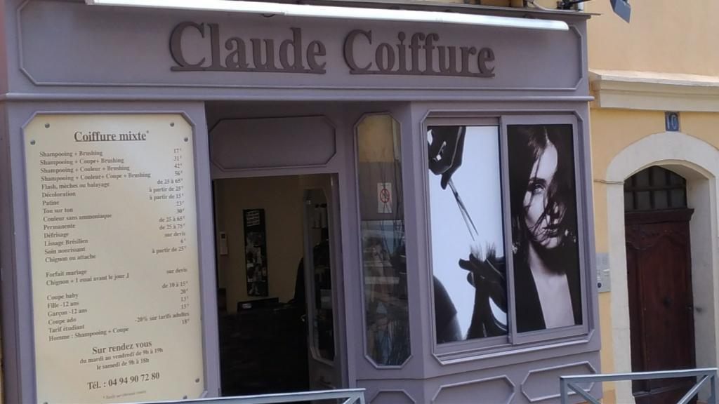claude coiffure coiffeur 10 rue voltaire 83150 bandol adresse horaire. Black Bedroom Furniture Sets. Home Design Ideas