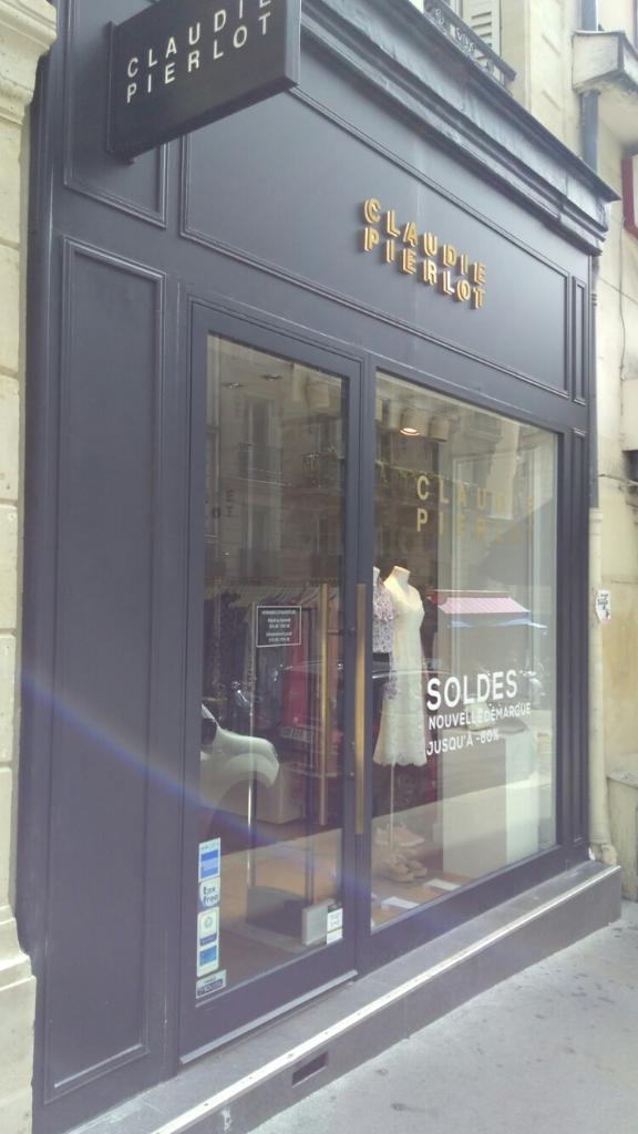 d74620969b1b3c Claudie Pierlot, 4 r Abbesses, 75018 Paris - Magasins de vêtement (adresse,  horaires, ouvert le dimanche)