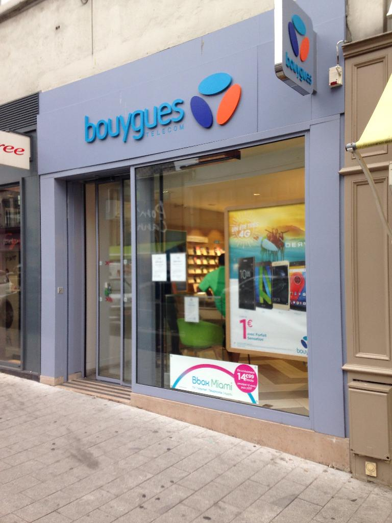 club bouygues telecom vente de t l phonie 2 grande rue. Black Bedroom Furniture Sets. Home Design Ideas