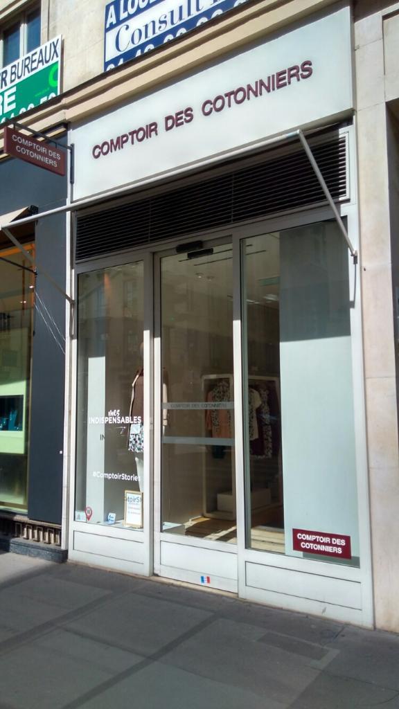 Comptoir des cotonniers v tements femme 17 rue de la - Comptoir des cotonniers fr ...