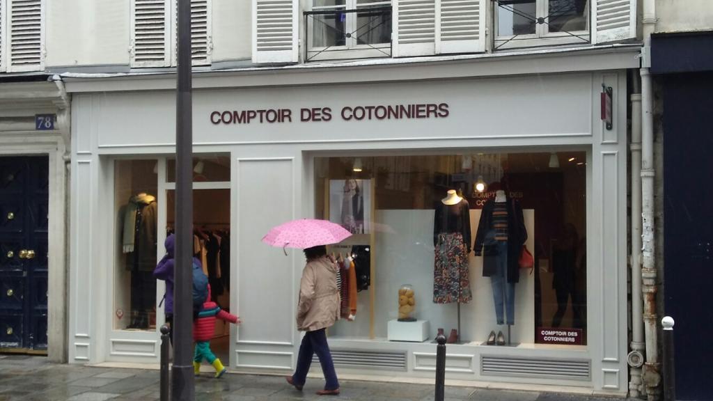 Comptoir des cotonniers v tements femme 78 rue saint dominique 75007 paris adresse horaire - Comptoirs des cotonniers paris ...