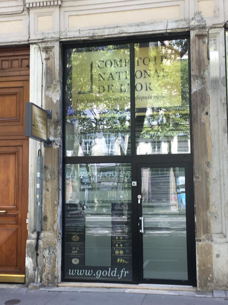 Comptoir national de l or bijoux anciens et d 39 occasion - Comptoir des tuileries cours de l or ...