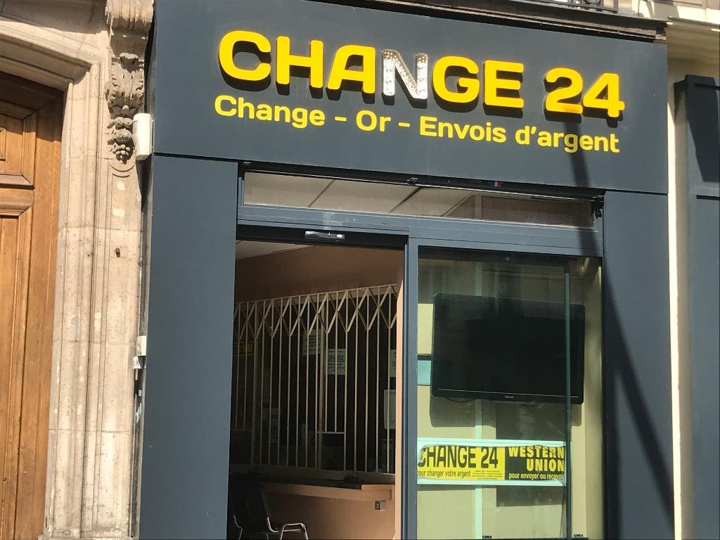 Bureau de change à paris