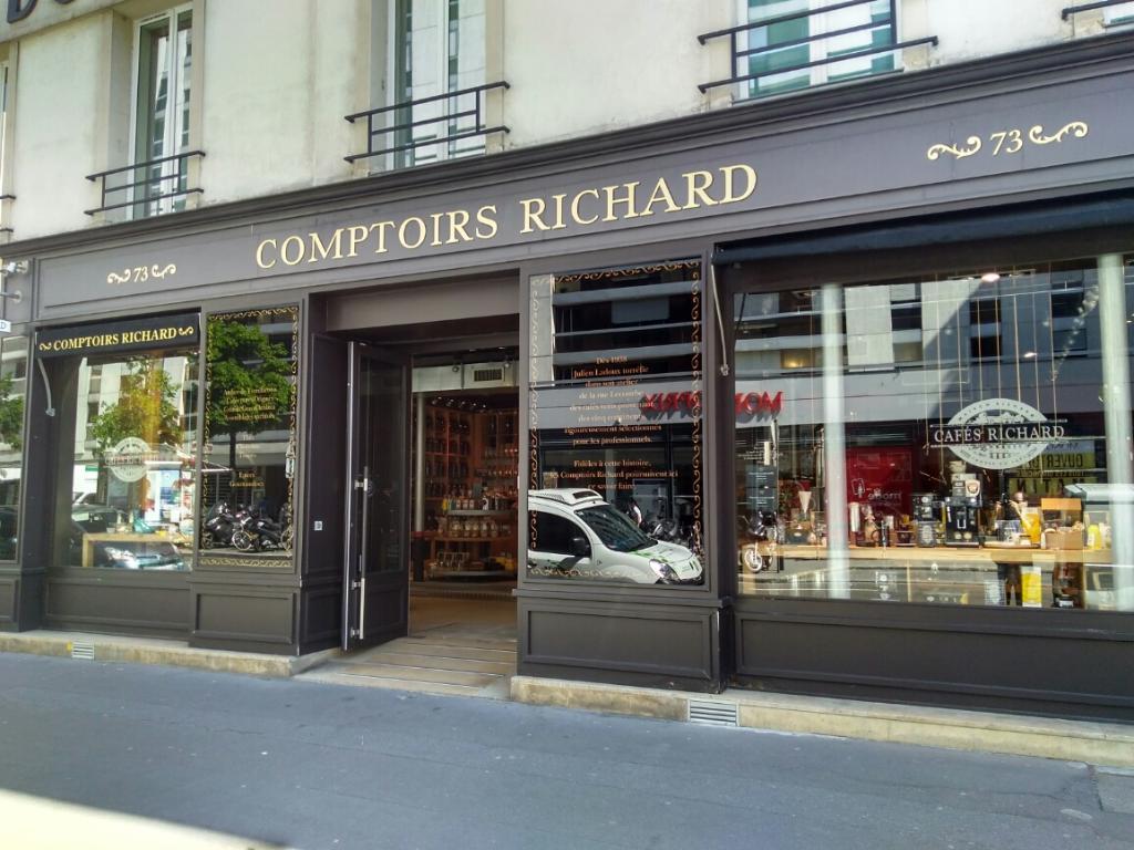 Comptoirs Richard Paris Torréfacteur Adresse Horaires Ouvert Le