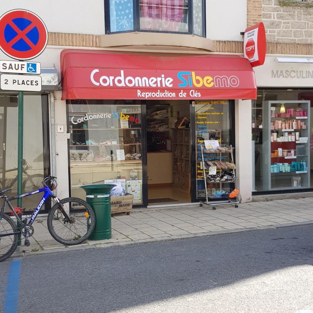 cordonnerie sibemo cordonnier 4 rue saint vincent 56370 sarzeau adresse horaire. Black Bedroom Furniture Sets. Home Design Ideas