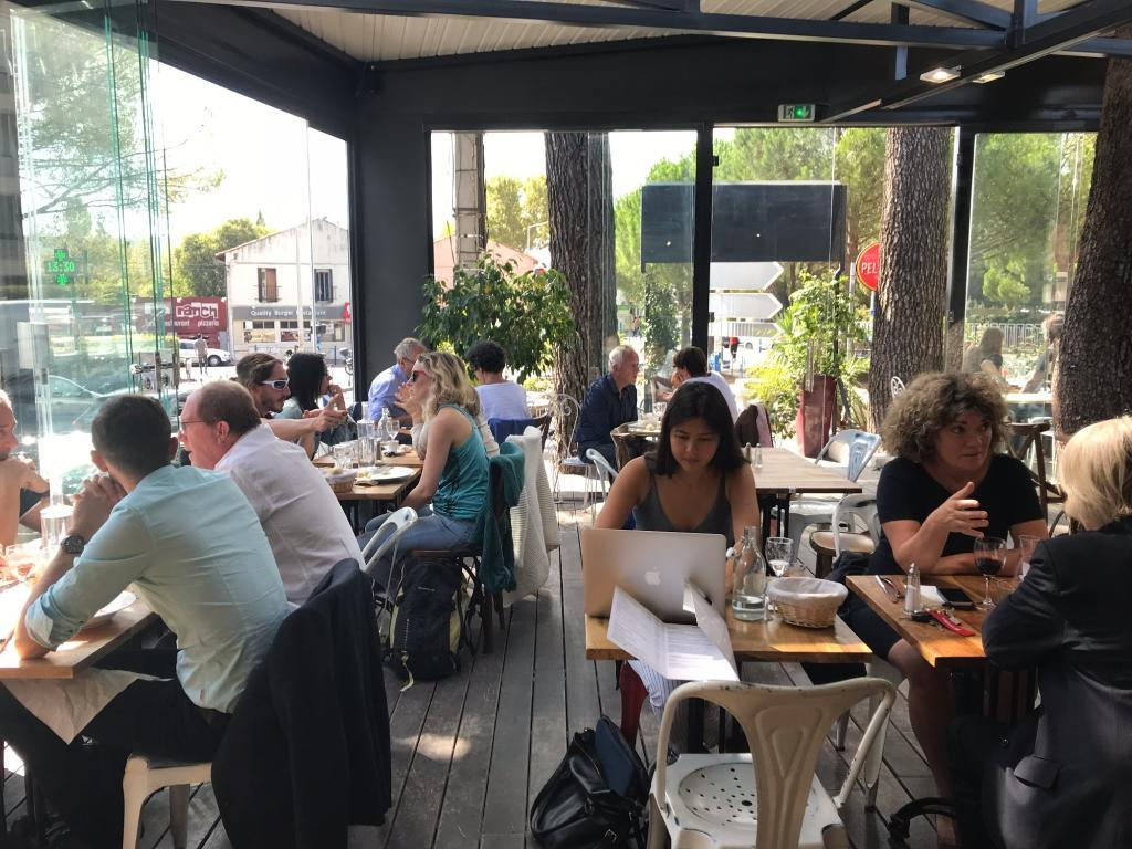 Cote jardin montpellier restaurant 41 rue de l - Jardin des sens restaurant montpellier ...