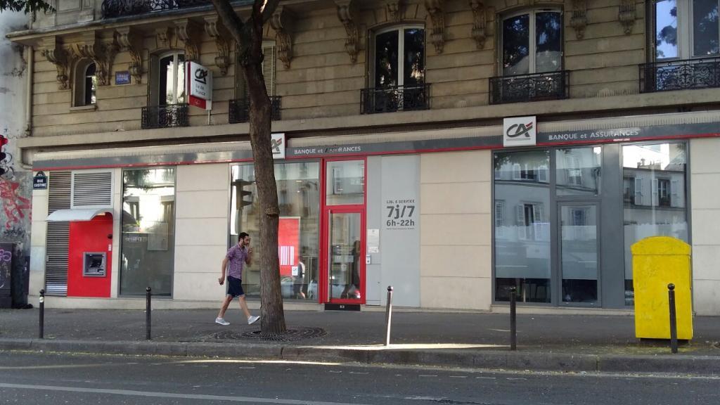 Banque Populaire Rives De Paris Banque 117 Bis Rue Ordener 75018