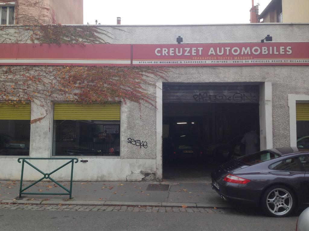 Creuzet automobiles garage automobile 33 rue creuzet for Garage ouvert lyon