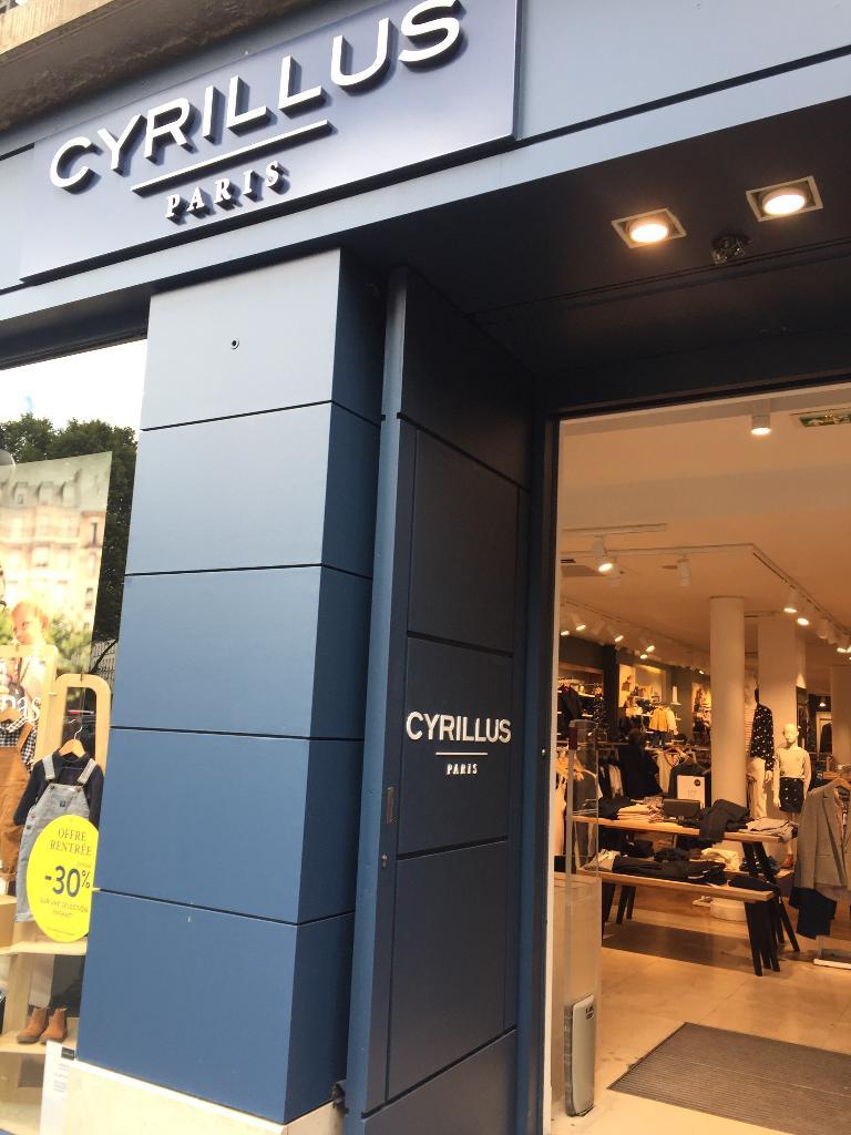 Cyrillus v tements femme 16 rue s vres 75007 paris adresse horaire - Comptoir des cotonniers paris 16 ...