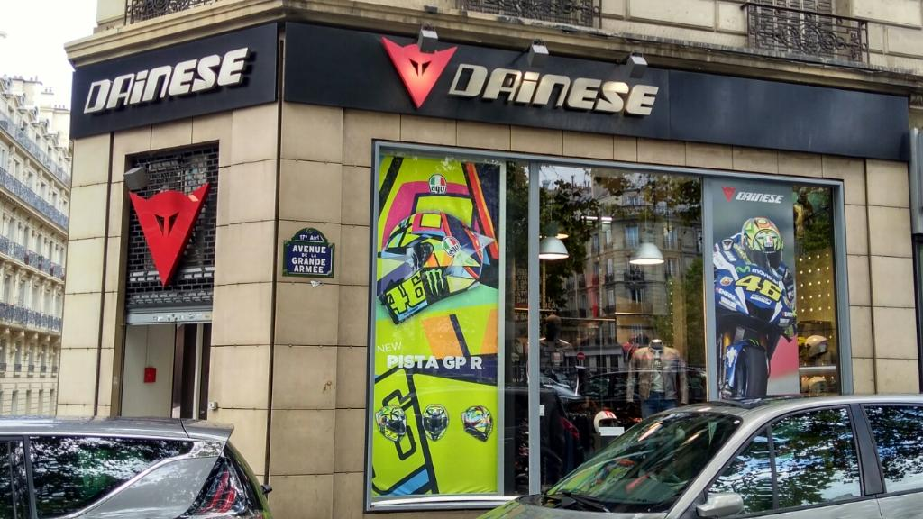 Dainese proshop magasin de sport 16 avenue grande arm e for D garage dainese corbeil horaires