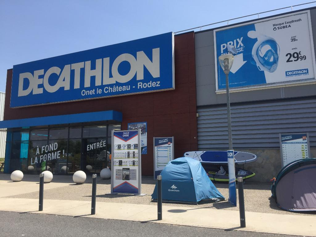 decathlon magasin de sport zone l 39 estreniol 12000 onet le ch teau adresse horaire. Black Bedroom Furniture Sets. Home Design Ideas