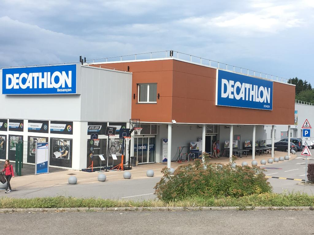 D cathlon magasin de sport 3 rue andr breton 25000 for Horaire decathlon provins