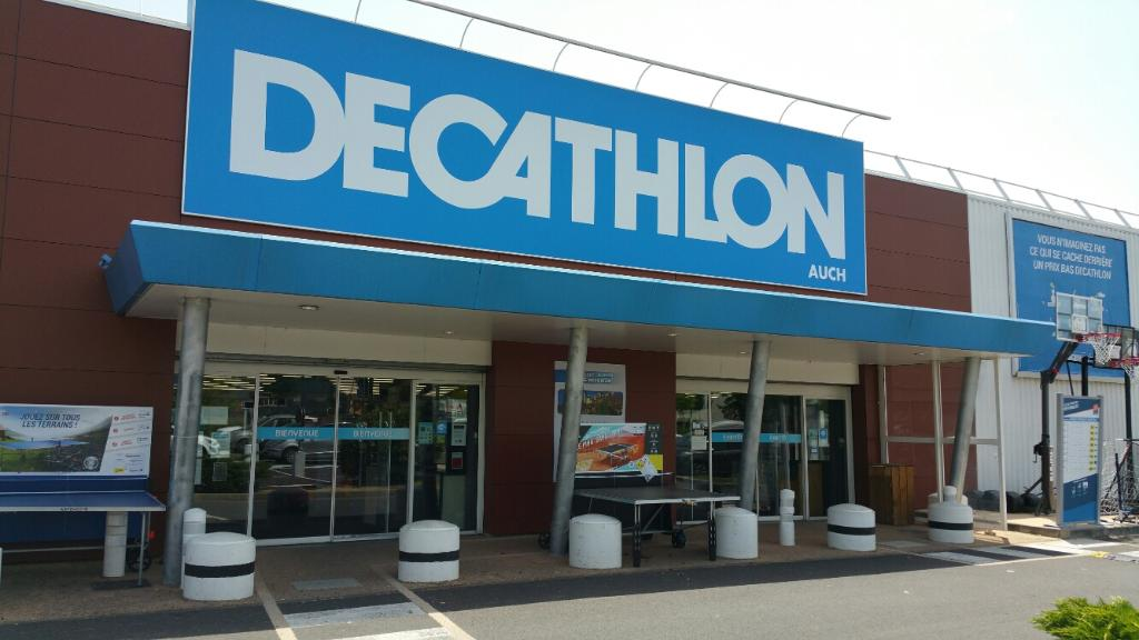 Decathlon magasin de sport rue du 8 mai 32000 auch for Horaire decathlon provins