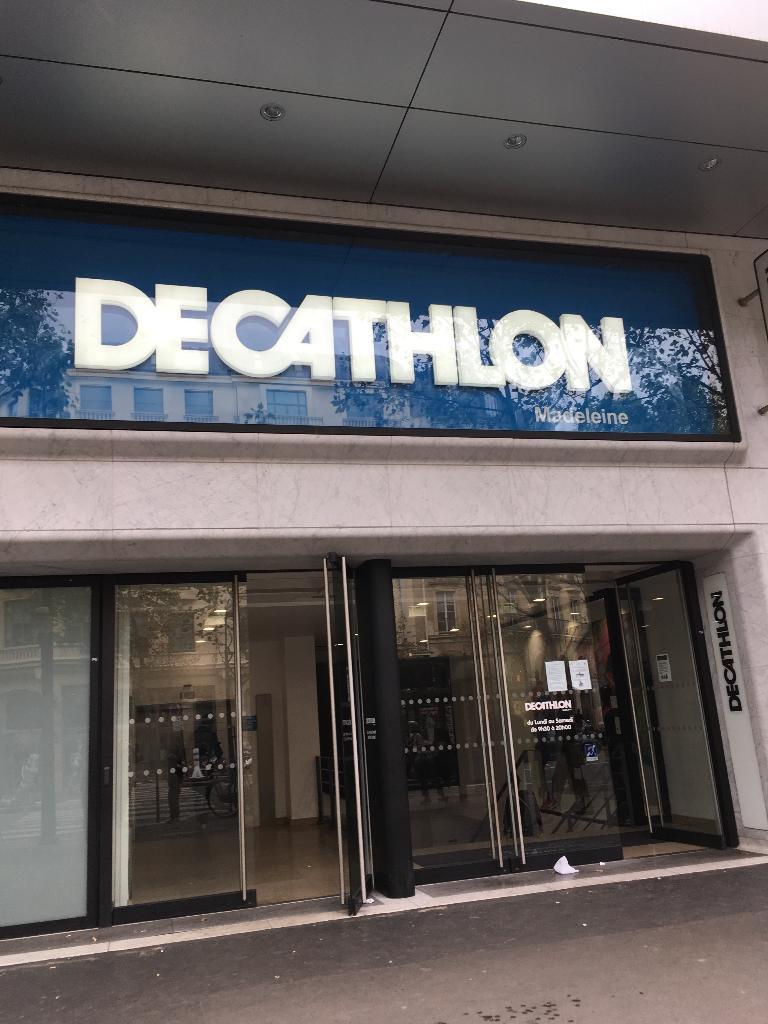 Decathlon France - Magasin de sport, 23 boulevard Madeleine 75001 ...