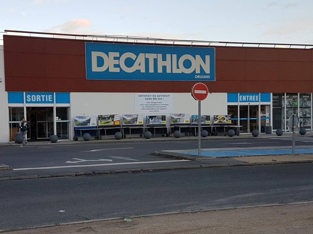 decathlon orl ans magasin de sport avenue roger secr tain 45000 orl ans adresse horaire. Black Bedroom Furniture Sets. Home Design Ideas