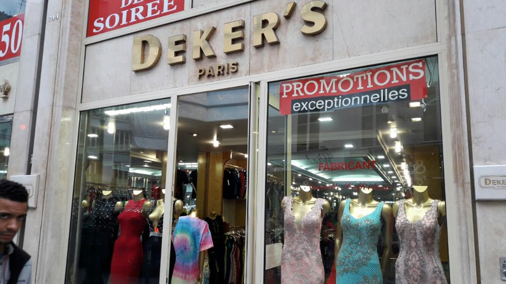 Robe de soiree magasin saint denis