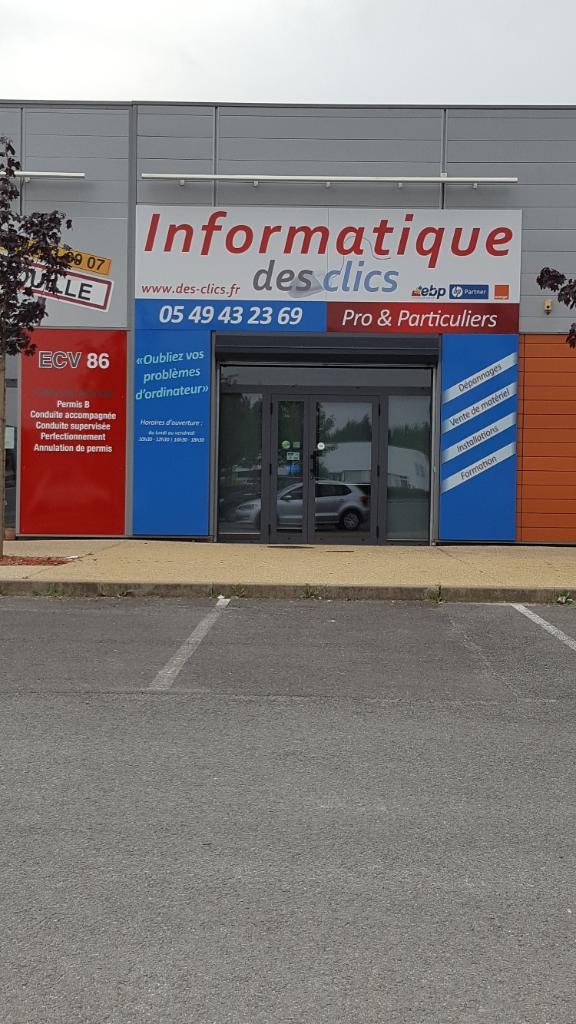 Favori Des Clics Vouillé (adresse, horaires) EC55