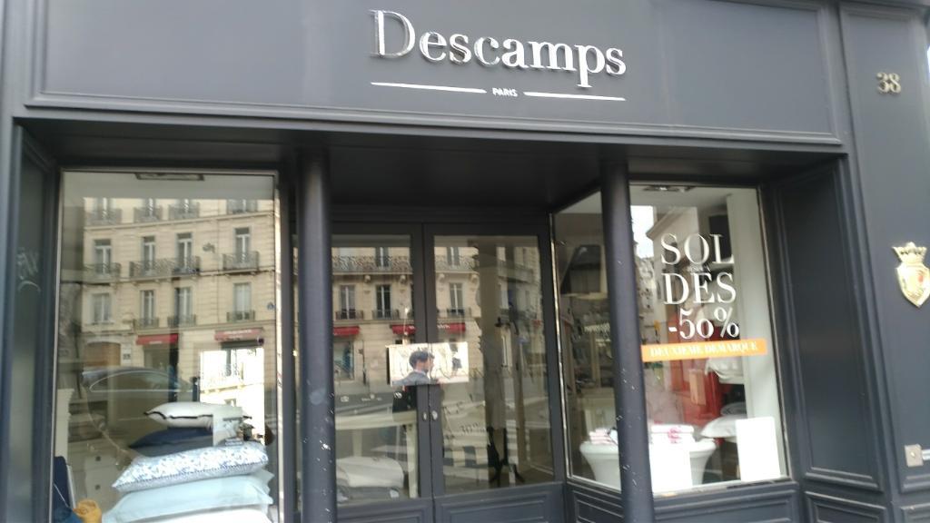 descamps linge de maison 38 rue du four 75001 paris. Black Bedroom Furniture Sets. Home Design Ideas
