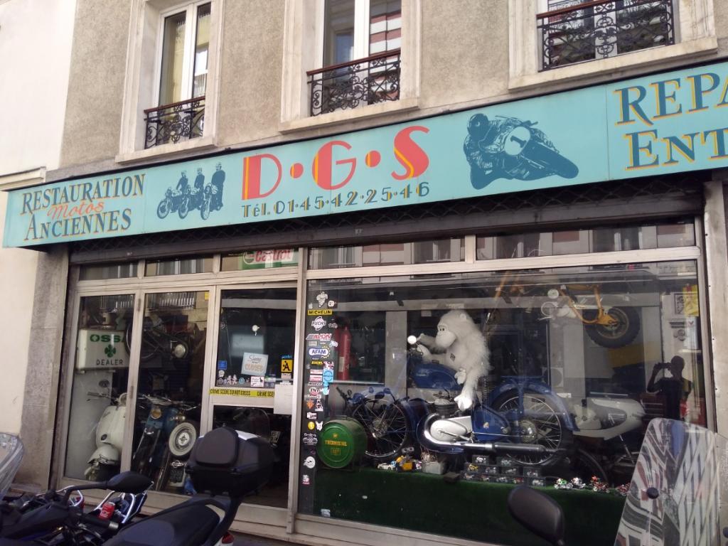 dg scooter service vente et r paration de motos et scooters 4 rue francis de pressens 75014. Black Bedroom Furniture Sets. Home Design Ideas