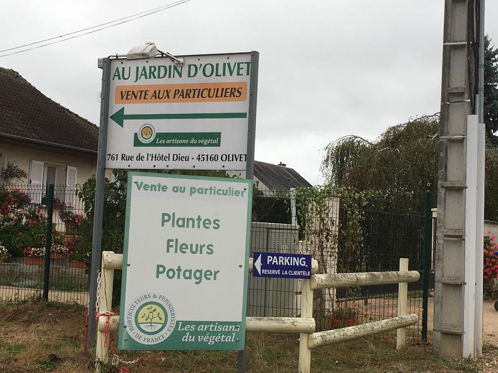Au Jardin D\'Olivet - Jardinerie, 761 rue Hôtel Dieu 45160 Olivet ...