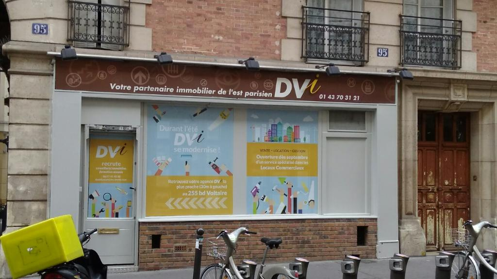 Dv immobilier agence immobili re 95 rue de montreuil for Agence immobiliere 75011