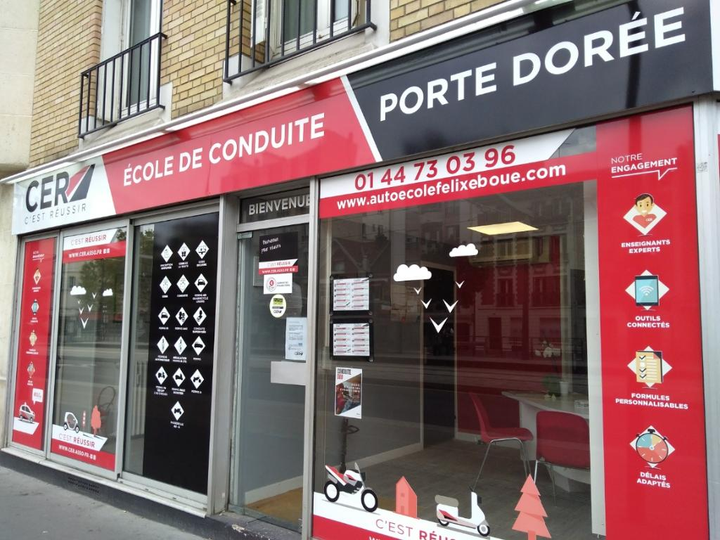 ecole de conduite f lix ebou auto cole 104 boulevard poniatowski 75012 paris adresse horaire. Black Bedroom Furniture Sets. Home Design Ideas