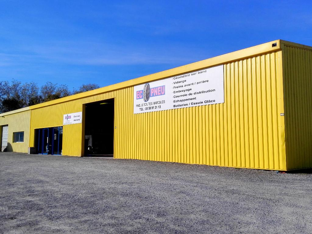 Ecopneu garage automobile 132 chemin anguiaou a cote d for Garage automobile ouvert