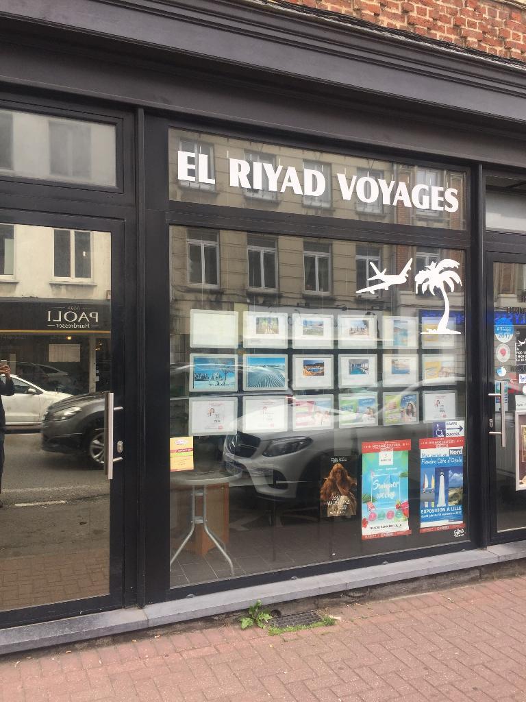 El Riyad Voyages Agence De Voyages 134 Rue Du Faubourg De Roubaix