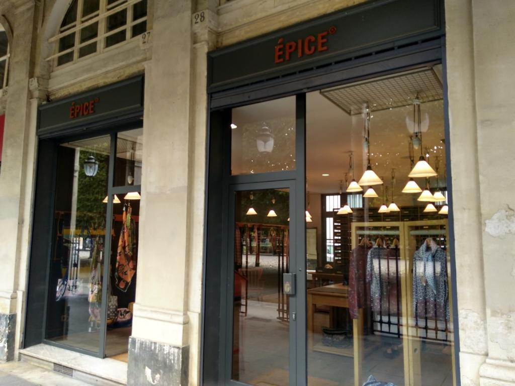 Epice Paris - Magasins de vêtement (adresse, horaires) f76caa40606