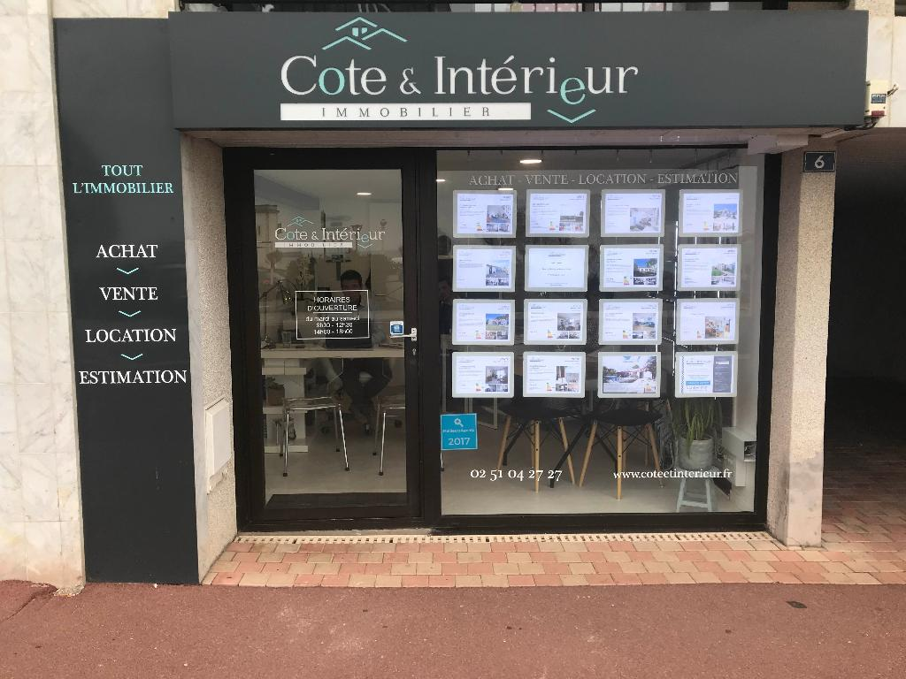 C te et int rieur agence immobili re 6 place strasbourg for Agence immobiliere 85100