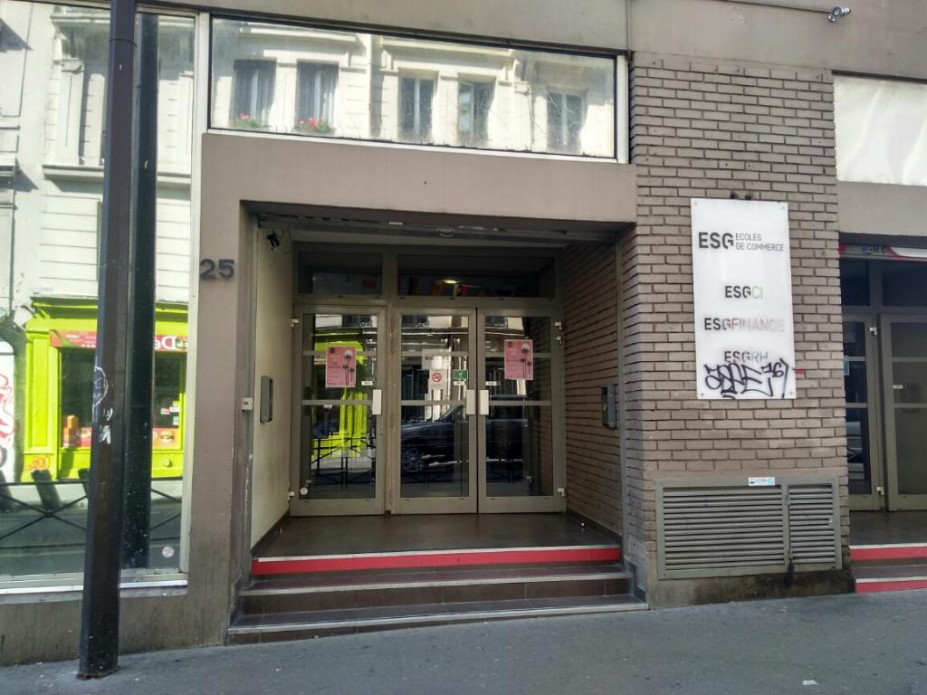 esgci enseignement pour le commerce la gestion et l 39 informatique 25 rue saint ambroise 75011. Black Bedroom Furniture Sets. Home Design Ideas